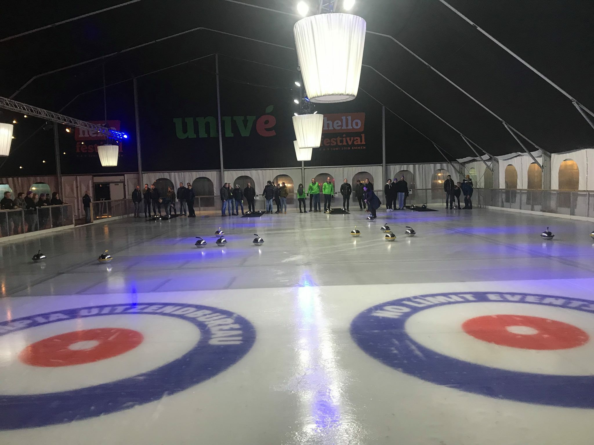 Volker Wessel Curling Cup van start